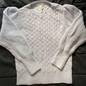 Rebecca Taylor La Vie Lilac Sweater